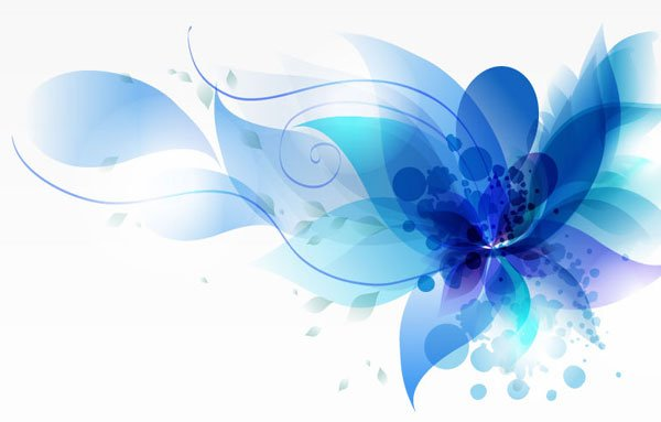 Vector art abstract flower art, create artwork and illustrations with our intermediate Illustrator course.